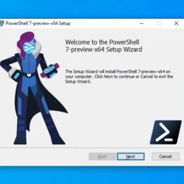 PowerShell 7 Installer