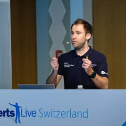 Speaking at Experts Live Switzerland