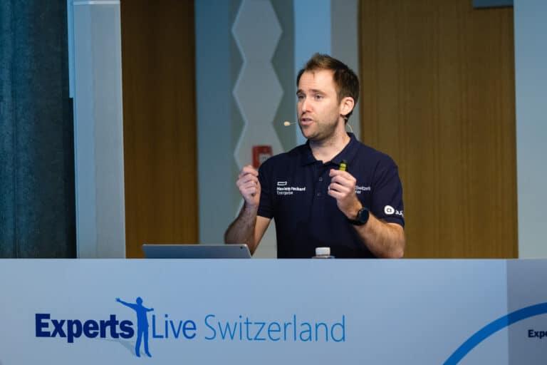 Speaking at Experts Live Switzerland