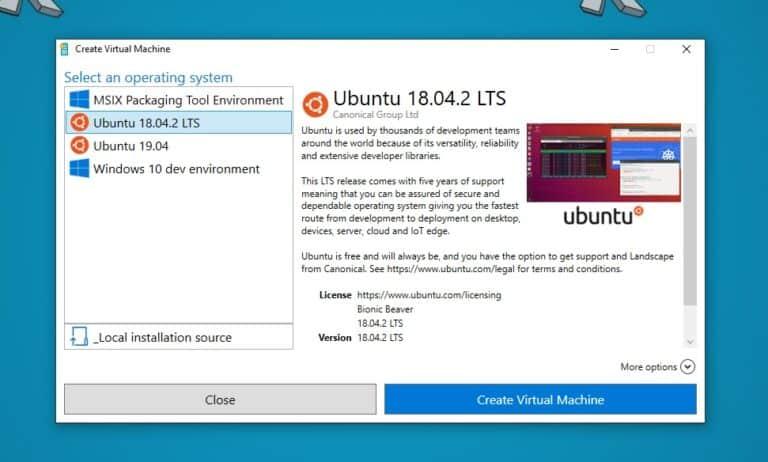 Ubuntu Hyper-V VM Images