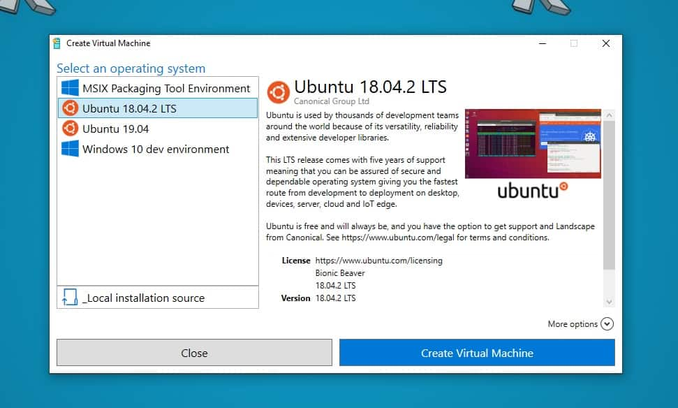 How to create an Ubuntu VM on Windows 10 - Thomas Maurer