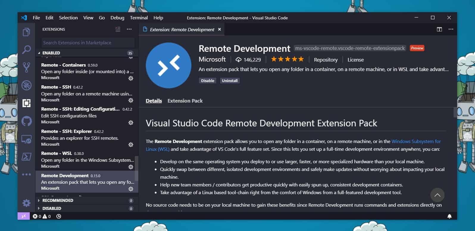Remote Edit Files on Azure Linux VMs using VS Code - Thomas