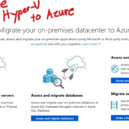 Migrate Hyper-V VMs to Azure using Azure Migrate