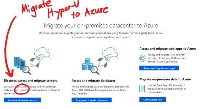 Assess and Migrate Hyper-V VMs with Azure Migrate - Thomas