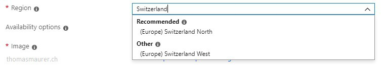 Microsoft Azure Regions in Switzerland now available - Thomas Maurer