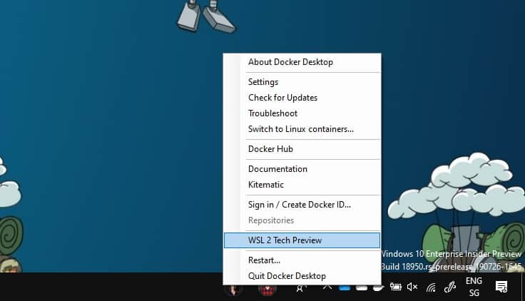 Run Linux Containers with Docker Desktop and WSL 2 - Thomas