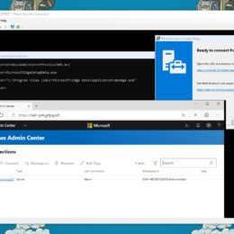 Run Windows Admin Center on Windows Server Core