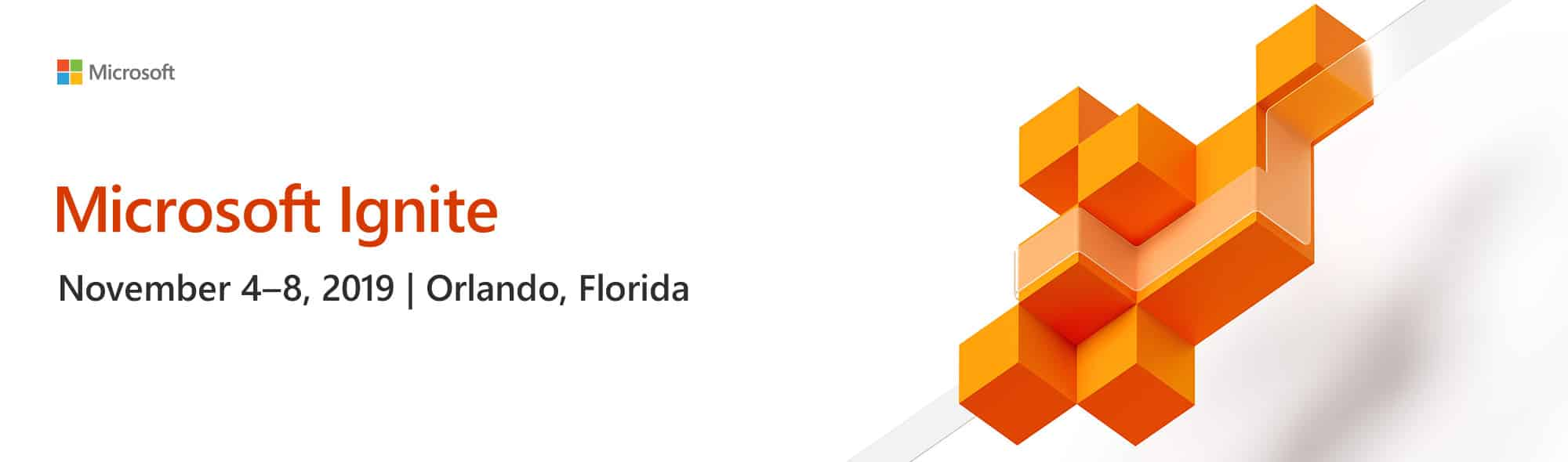 Microsoft Ignite 2019 Orlando