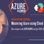 Speaking at the European SharePoint Office 365 Azure Conference