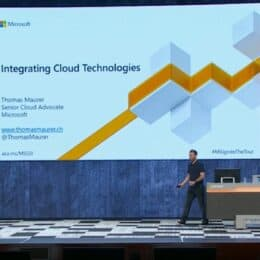Microsoft Ignite 2019 Thomas Maurer Speaking Hybrid Cloud