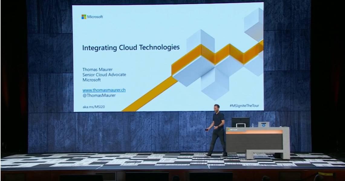 Microsoft Ignite 2019 Thomas Maurer Speaking Hybrid Cloud