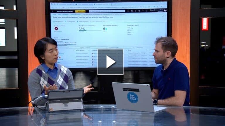 Video Microsoft Ignite Live 2019 - Azure Arc for Server