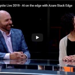Video Microsoft Ignite Live 2019 - Azure Stack Edge