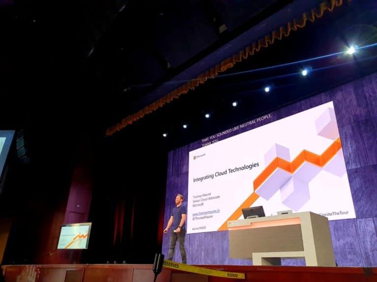Speaking at Microsoft Ignite 2019