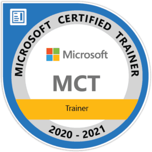 Microsoft Certified Trainer MCT 2020-2021
