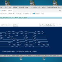 PowerShell ISE Mode in Visual Studio Code