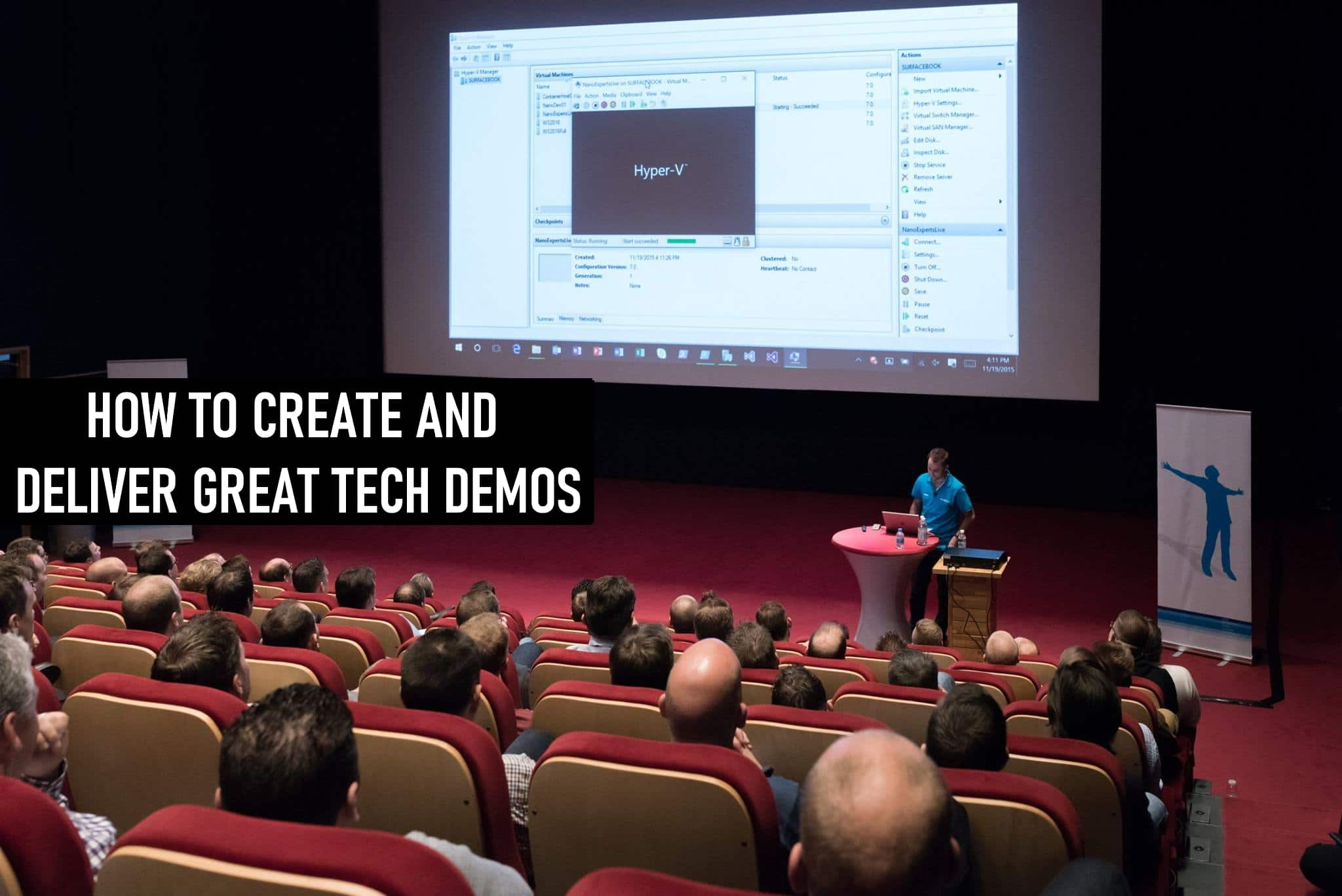 Presenting and Creating Great Tech Demos