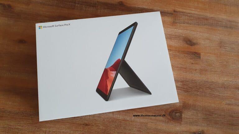 Surface Pro X Box