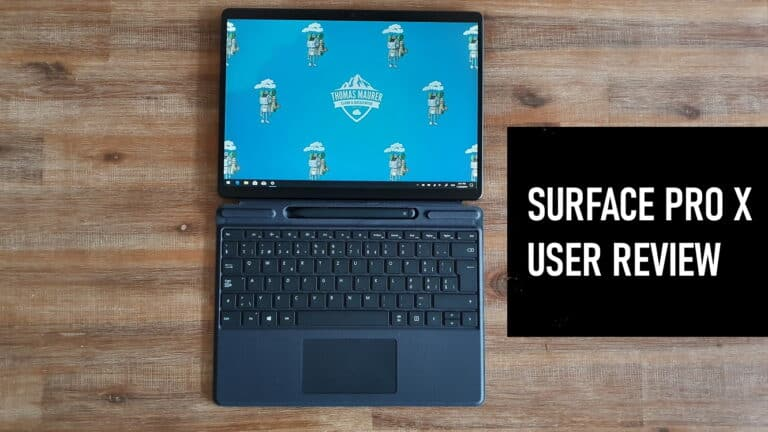 Surface Pro X User Review