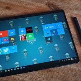 Surface Pro X with Slim Pen