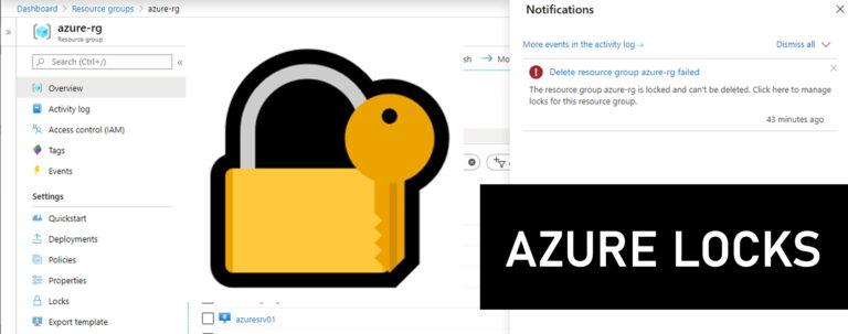 Azure Locks - Governance