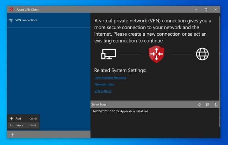 Configure Azure VPN Client