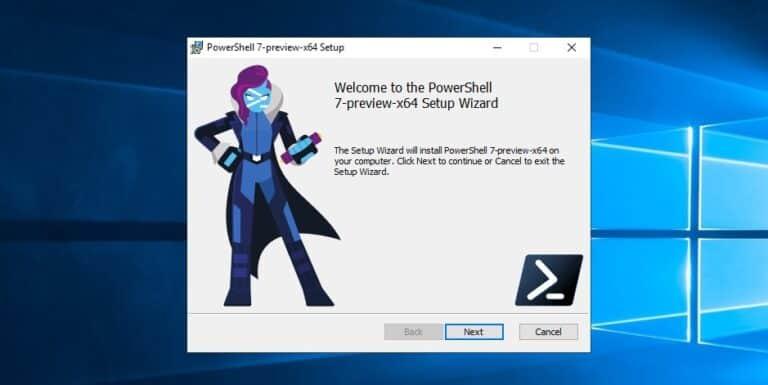 Install PowerShell 7