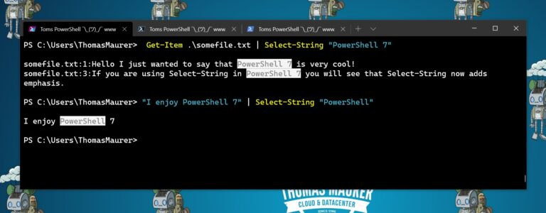 PowerShell Select-String adds emphasis