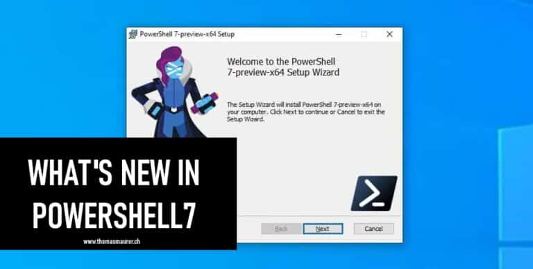 What's new in PowerShell 7
