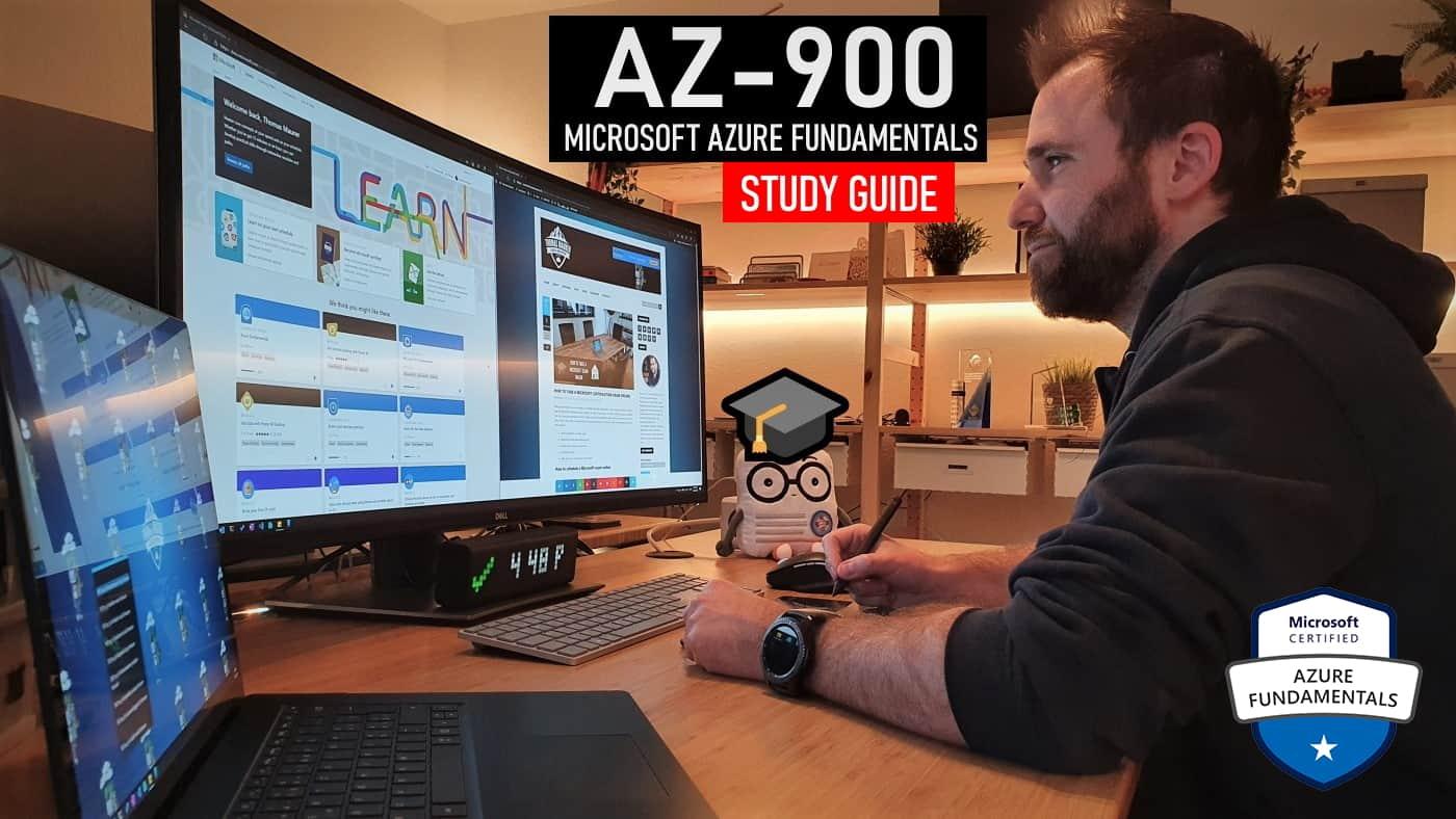 AZ-900 Study Guide Microsoft Azure Fundamentals Exam Study Guide