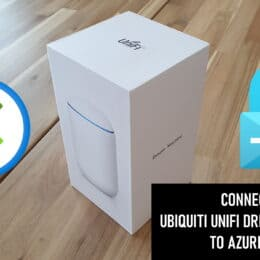 Connect Ubiquiti UniFi Dream Machine to Azure VPN