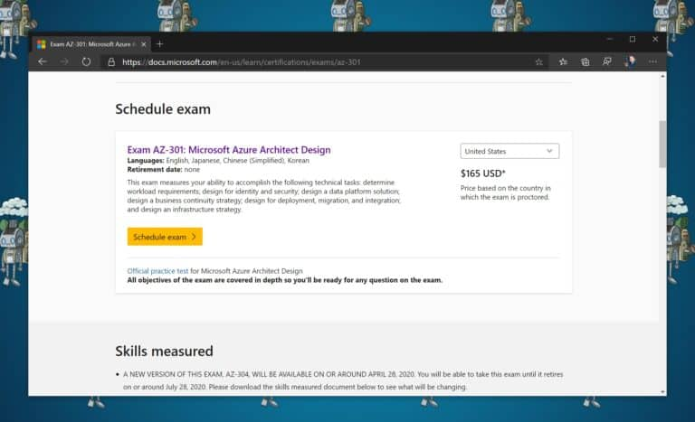 Schedule a Microsoft Certification Exam