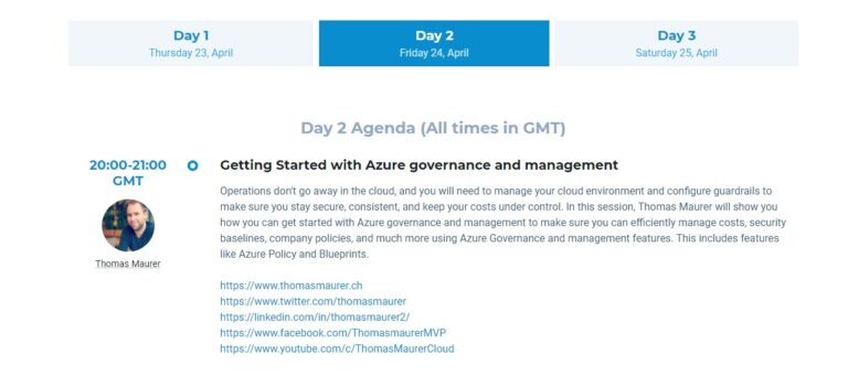 Global Azure Virtual 2020 UK Day 2 Session