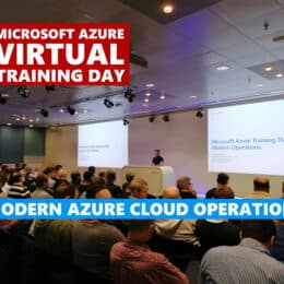 Microsoft Azure Virtual Training Day Modern Cloud Operations