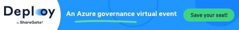 ShareGate Deploy Conference