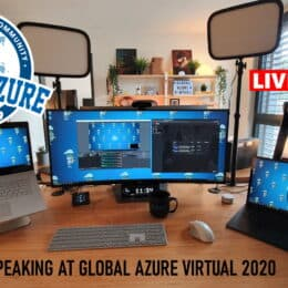 Speaking at Global Azure Virtual 2020 Livestream