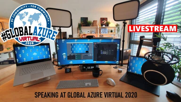 Speaking at Global Azure Virtual 2020 Livestream