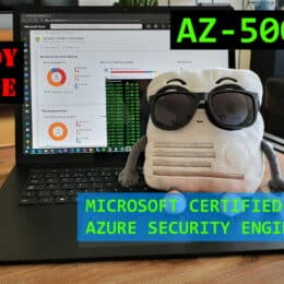 AZ-500 Microsoft Azure Security Technologies Engineer Exam Study Guide