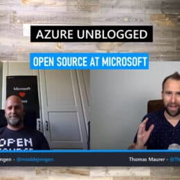 Azure Unblogged - Open Source at Microsoft