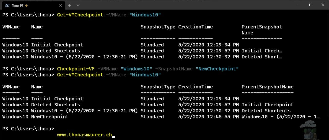 How to Manage Hyper-V VM Checkpoints with PowerShell