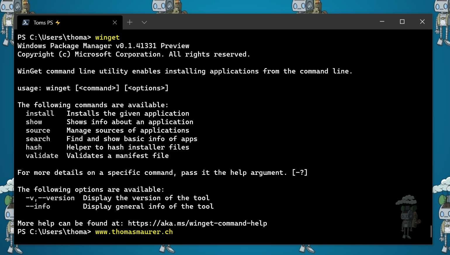 Install WinGet - Windows Package Manager