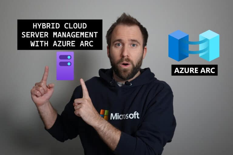 Livestream Hybrid Cloud Server Management with Azure Arc