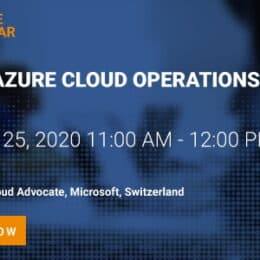Webinar Modern Azure Cloud Operations for IT Ops