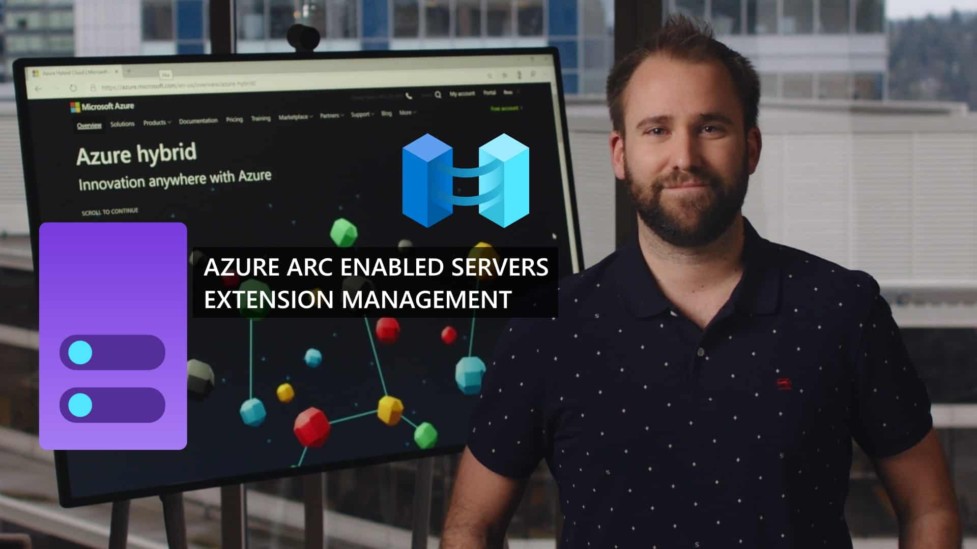 Azure Arc Enabled Servers Extension Management