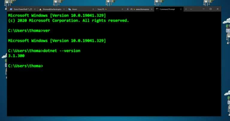 Retro Command Prompt