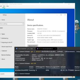 Run Hyper-V on Windows 10 on ARM and the Surface Pro X