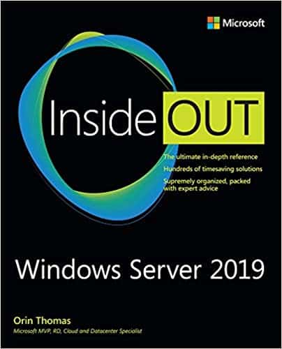 Windows Server 2019 Inside Out Microsoft Press Book