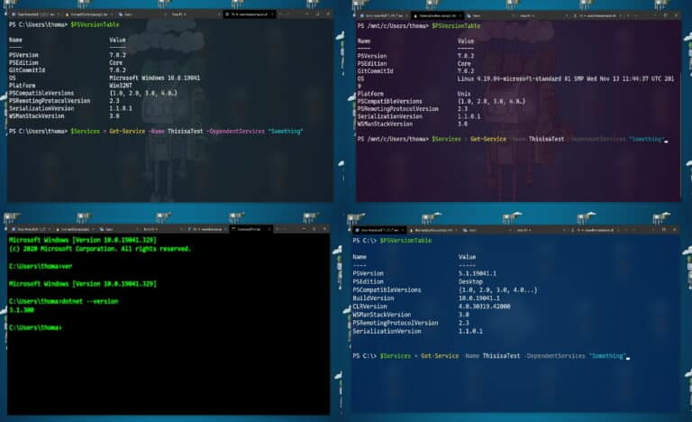 Windows Terminal Color Schemes -Themes