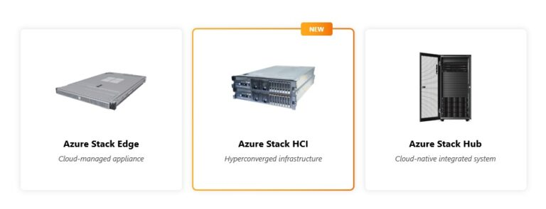 Azure Stack HCI version 20H2 - Part of the Azure Stack portfolio