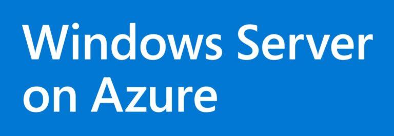 Windows Server on Microsoft Azure